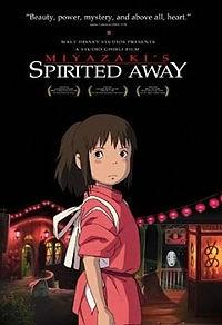 Spirited Away - மங்கா டைப்பில் இருக்கும் போஸ்டர்